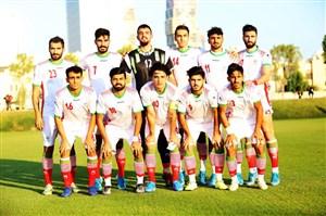 ۲ بازی دوستانه تیم ملی فوتبال امید ایران در قطر