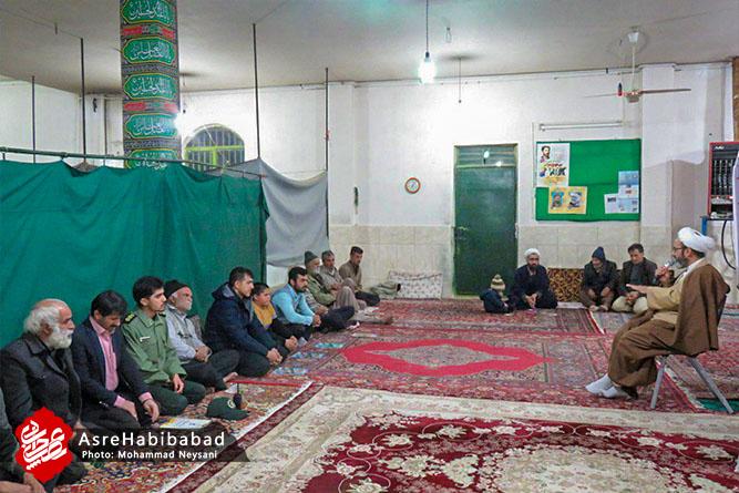 گرامیداشت دهه فجر و چهلم شهادت سپهبد سلیمانی در روستای پروانه برخوار + تصاویر