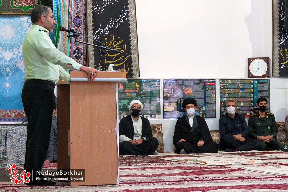 جلسه شورای معتمدین پلیس بخش حبیب آباد برگزار شد