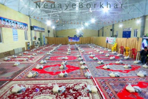توزیع ۱۵۰ بسته معیشتی در بیستمین مرحله کمک مومنانه شهر کمشچه