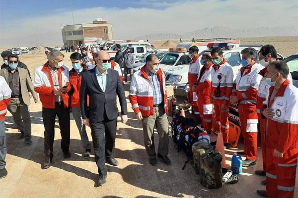 اجرای مانور کشوری ساعت صفر زلزله در کمشچه/ حفظ آمادگی برای مدیریت زلزله ۲/۶ دهم ریشتری