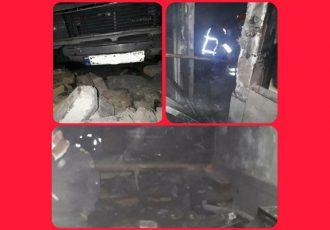 انفجار کپسول گاز در علی آباد ملاعلی یک مصدوم برجای گذاشت