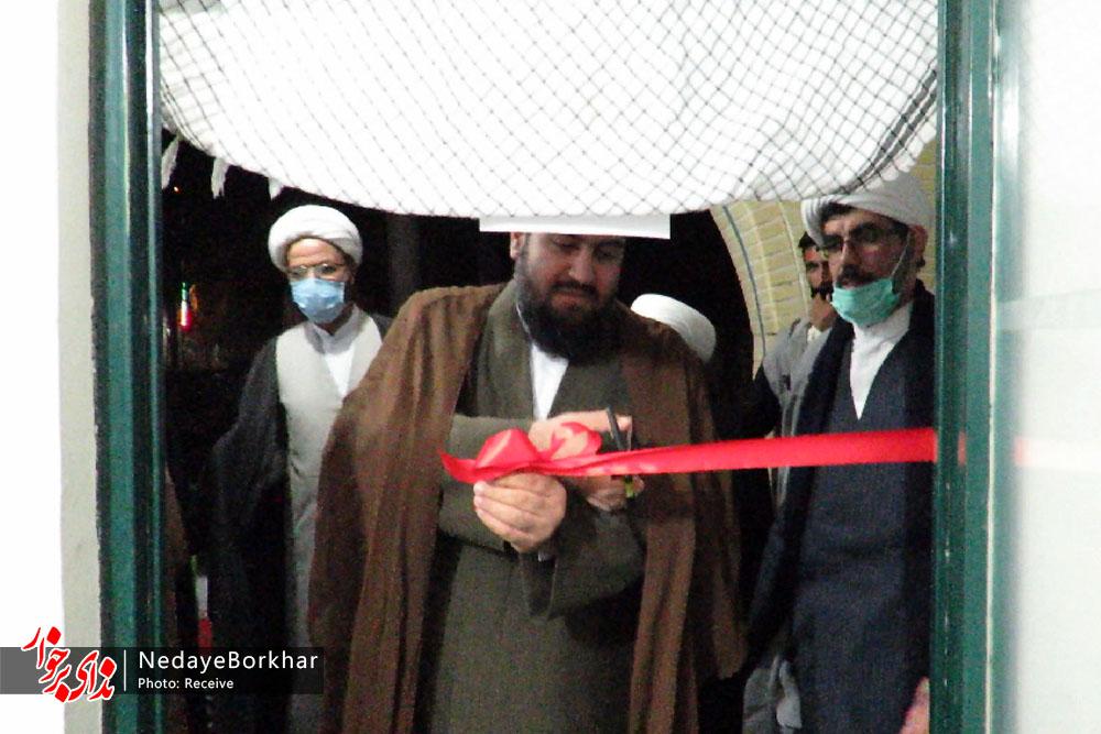 پایگاه بسیج طلاب و روحانیون آیت الله ادیب حبیب آباد افتتاح شد