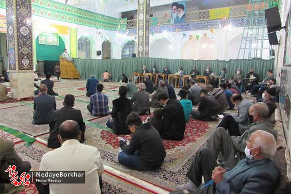 برگزاری جشن نیمه شعبان در مصلی نماز جمعه حبیب آباد + تصاویر