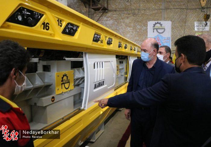 رونمایی از اولین دستگاه ساب اتوماتیک ۴ محوره خاورمیانه در منطقه صنعتی دولت آباد