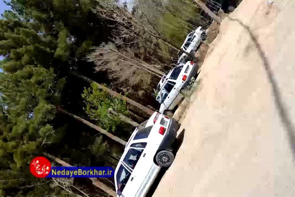 وضعیت پارک جنگلی حبیب آباد در روز طبیعت + فیلم