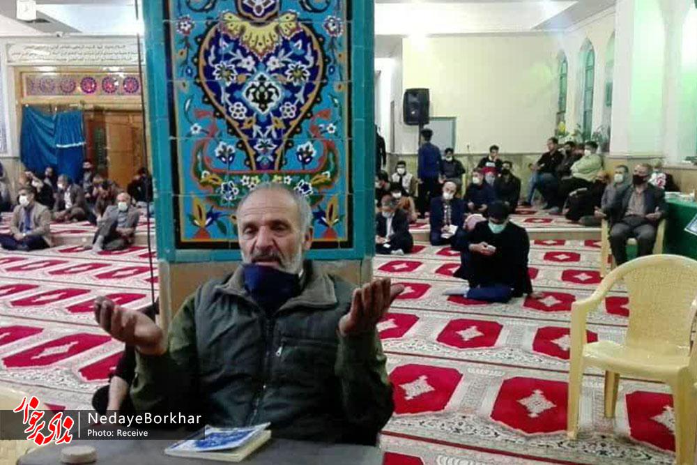 احیای شب بیست و یکم رمضان در امامزاده ادهم (ع) دستگرد برخوار برگزار شد
