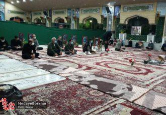 احیای شب نوزدهم ماه رمضان در جوار شهدای شهر سین برخوار + تصاویر
