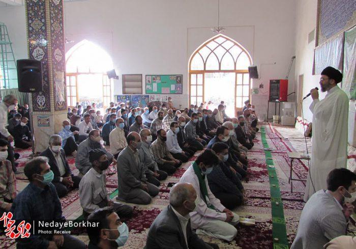 تصاویر   اقامه نماز عید سعید فطر در حبیب آباد