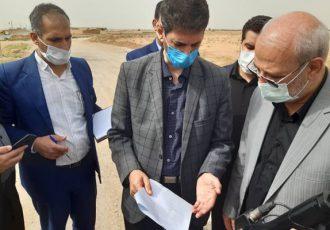 مدیرکل راه و شهرسازی استان اصفهان به برخوار سفر کرد/ تامین زمین برای مسکن محرومین برخوار