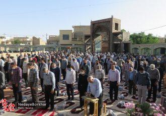 نماز عید سعید فطر در دستگرد برخوار اقامه شد + تصاویر