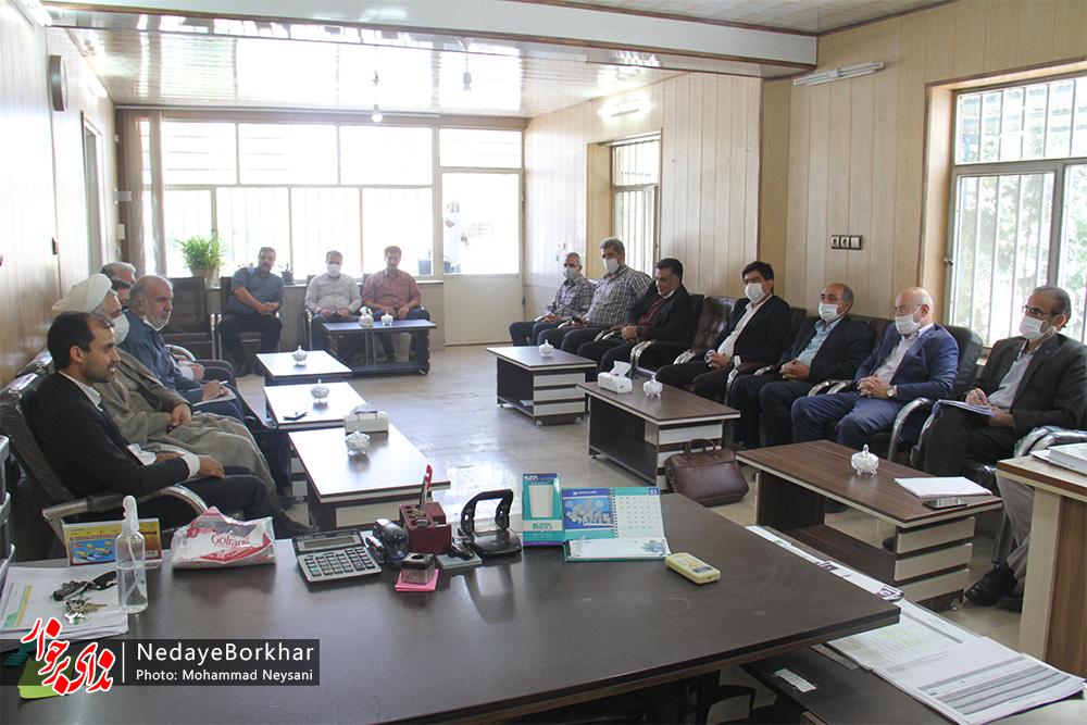جلسه رفع موانع تولید ناحیه صنعتی کمشچه برگزار شد