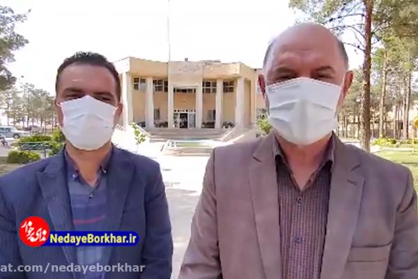 بازدید فرماندار شهرستان برخوار برای رفع مشکل افت فشار آب در مسکن مهر حبیب آباد