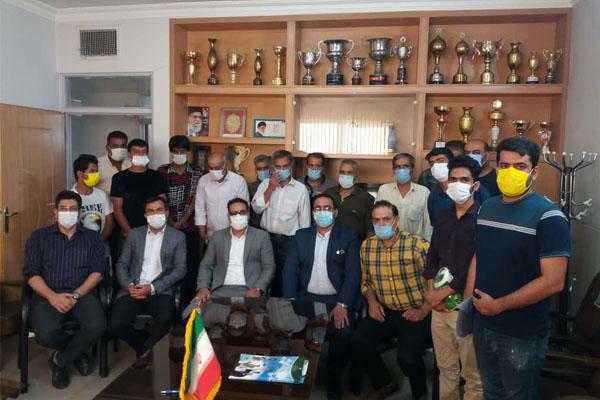 برگزاری مسابقات ورزشی به مناسبت هفته مبارزه با مواد مخدر در برخوار