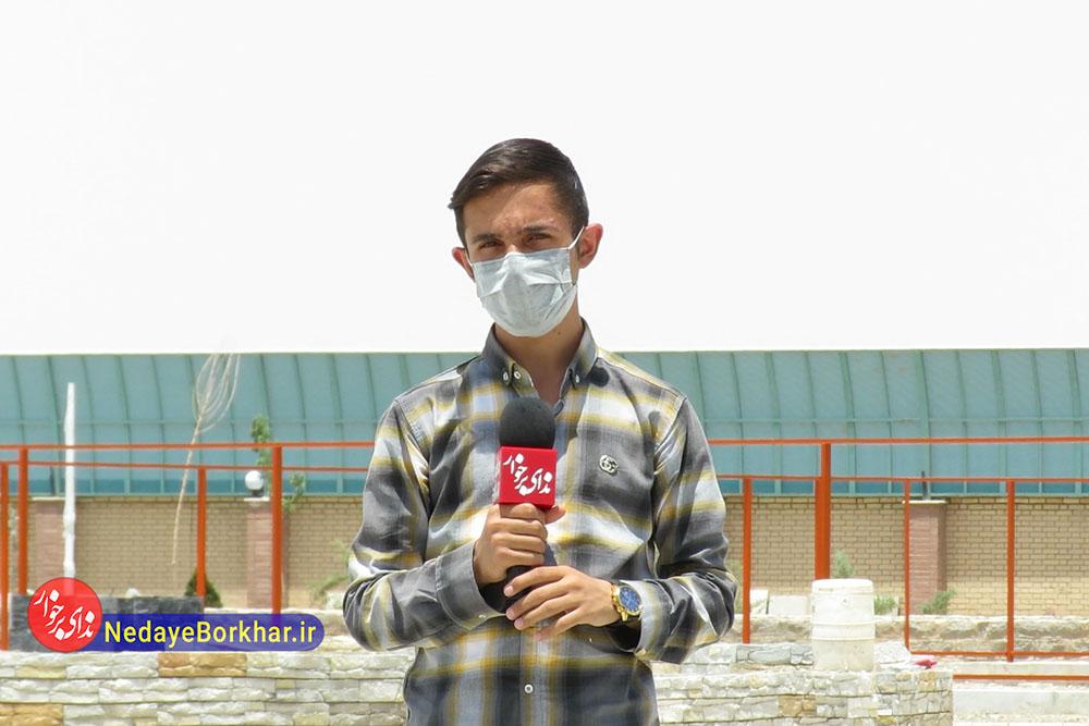 گزارش ویدیویی | باغ بانوان دولت آباد در آستانه بهره برداری