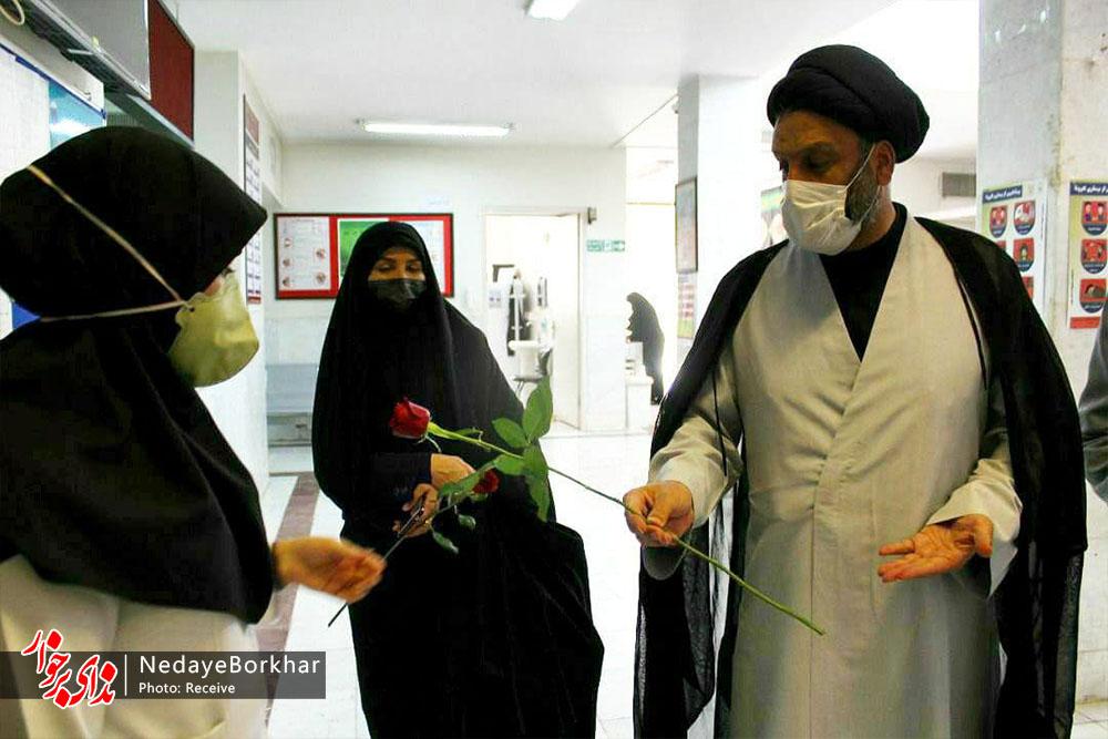 از کادر پزشکی شبکه بهداشت و درمان شهرستان برخوار تجلیل شد + تصاویر