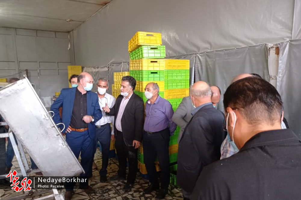 بازدید اعضای شورای تامین برخوار از ناحیه صنعتی کمشچه جهت رفع موانع تولید