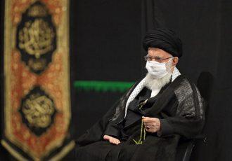 برگزاری عزاداری ایام محرم در حسینیه امام خمینی (ره) با حضور رهبر انقلاب