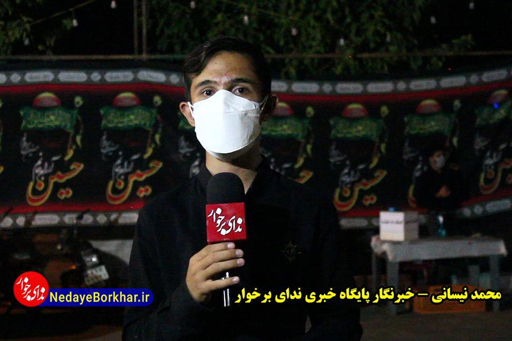 گزارش ویدیویی | پرچم مکتب حسینی هیچ گاه به زمین نیافتاده است