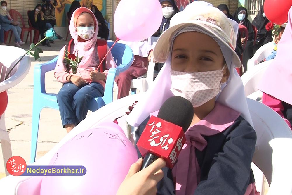 گزارش ویدیویی | شور و شوق شکوفه های کلاس اولی برای بازگشایی مدارس