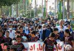 تصاویر | برگزاری همایش پیاده روی خانوادگی در برخوار