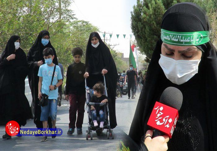 گزارش ویدیویی | شهرستان برخوار سوگوار شهادت امام رضا (ع)