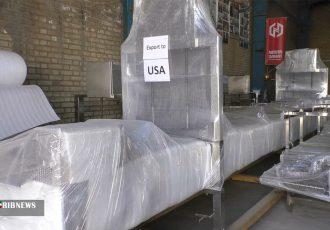 صادرات دستگاه فلافل ساز ساخت برخوار به آمریکا
