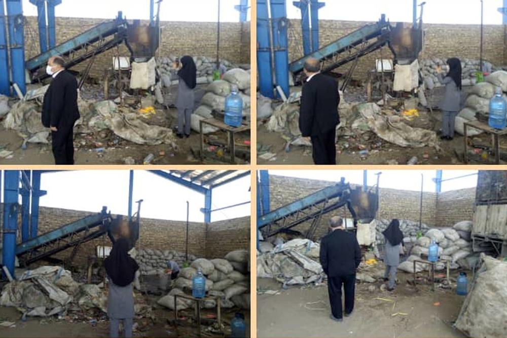 صدور اخطاریه های زیست محیطی برای کارگاه های آلاینده در شهرستان برخوار