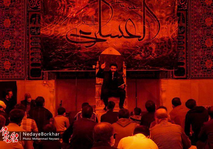 تصاویر | عزاداری شهادت امام حسن عسکری (ع) در محسن آباد برخوار