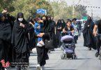 تصاویر | پیاده روی عزاداران ۲۸ صفر در مسیر منتهی به امامزاده محمود دولت آباد