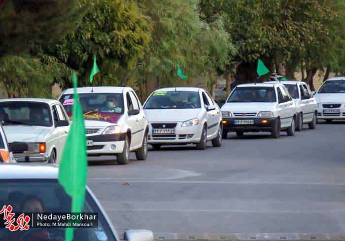 تصاویر | کارناوال خودرویی آغاز امامت حضرت ولی عصر (عج) در حبیب آباد