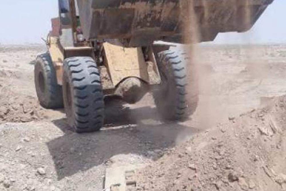 ۲ حلقه چاه غیرمجاز در برخوار پر و مسدود شد